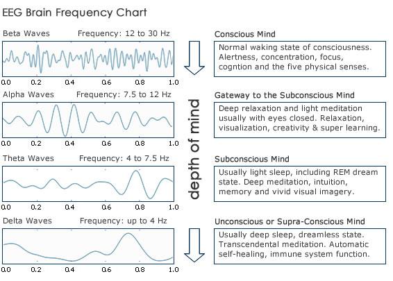 Eeg Frequency Chart